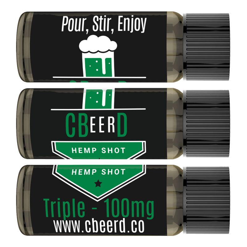CBeerD Hemp Shot Horizontal