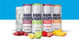 four flavors of bud light seltzers
