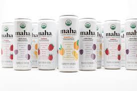 Maha Organic Hard Seltzer Cans