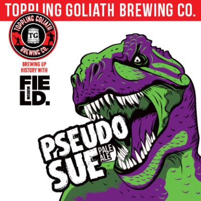 Pseudo Sue Toppling Goliath Beer Logo