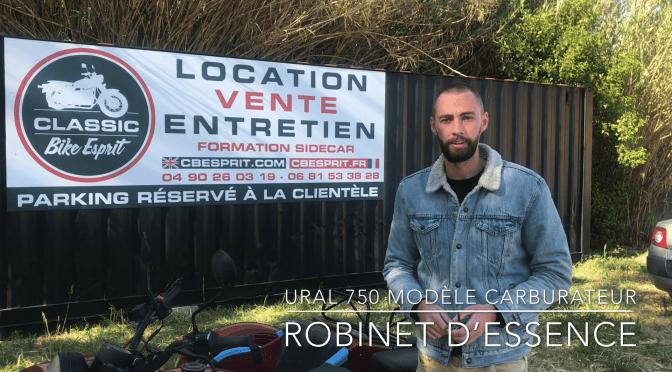 Nouvelle Vidéo Robinet d'essence URAL