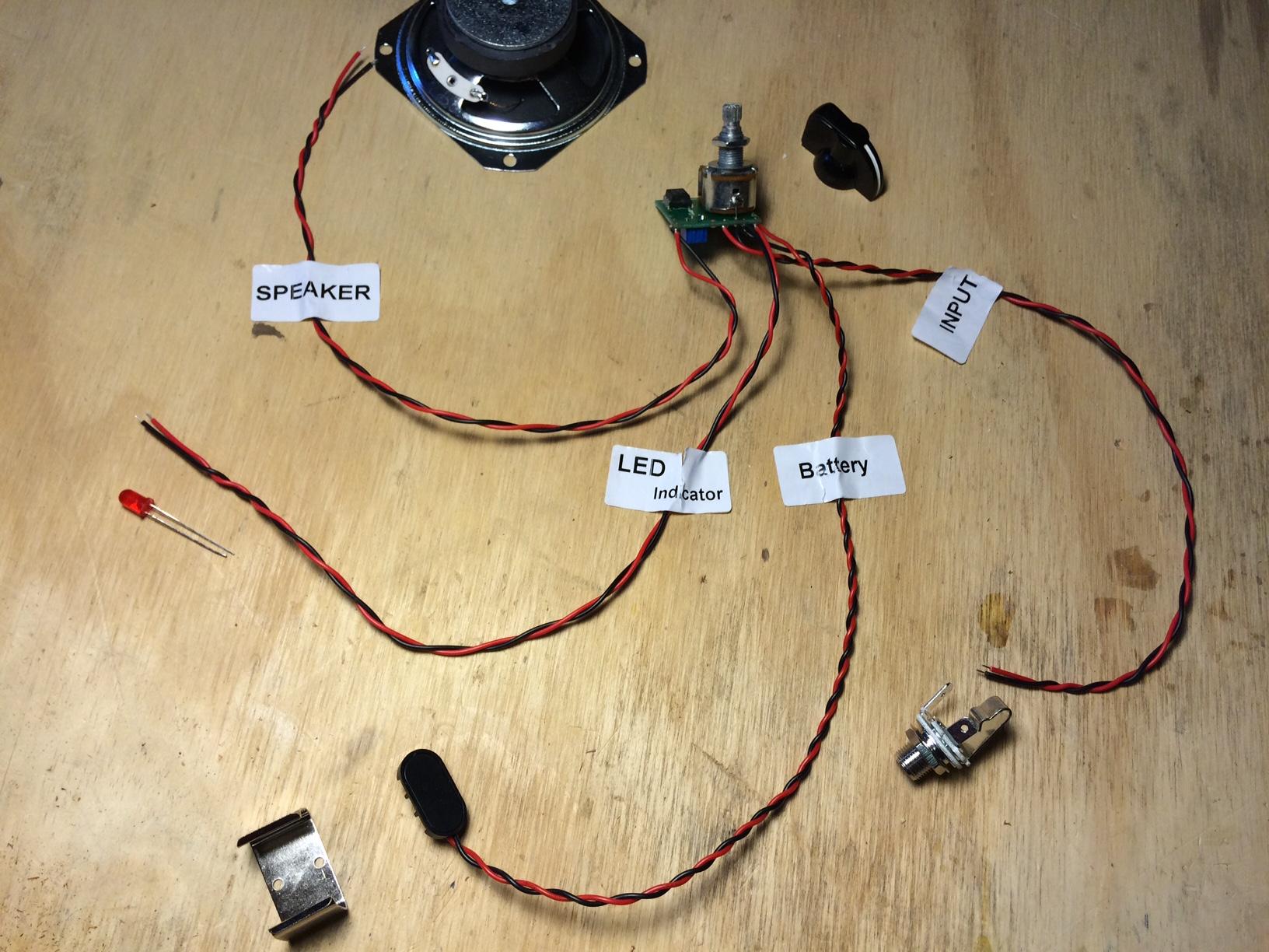 amplifier wiring kit radio shack 1967 honda ct90 diagram easy project build this dual speaker tweed guitar