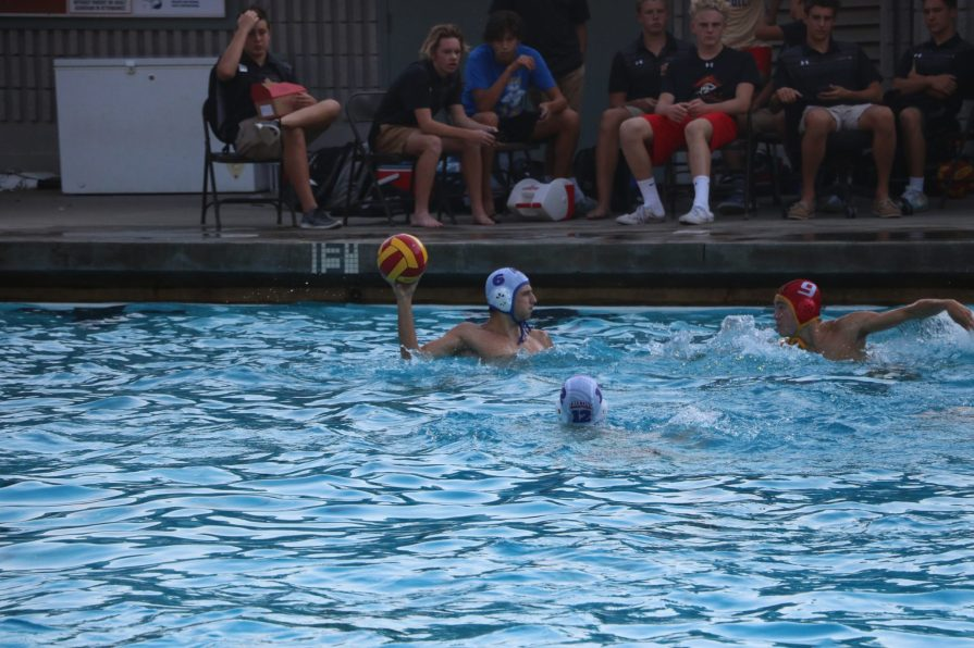 Men's Water Polo Faces Tough Tests