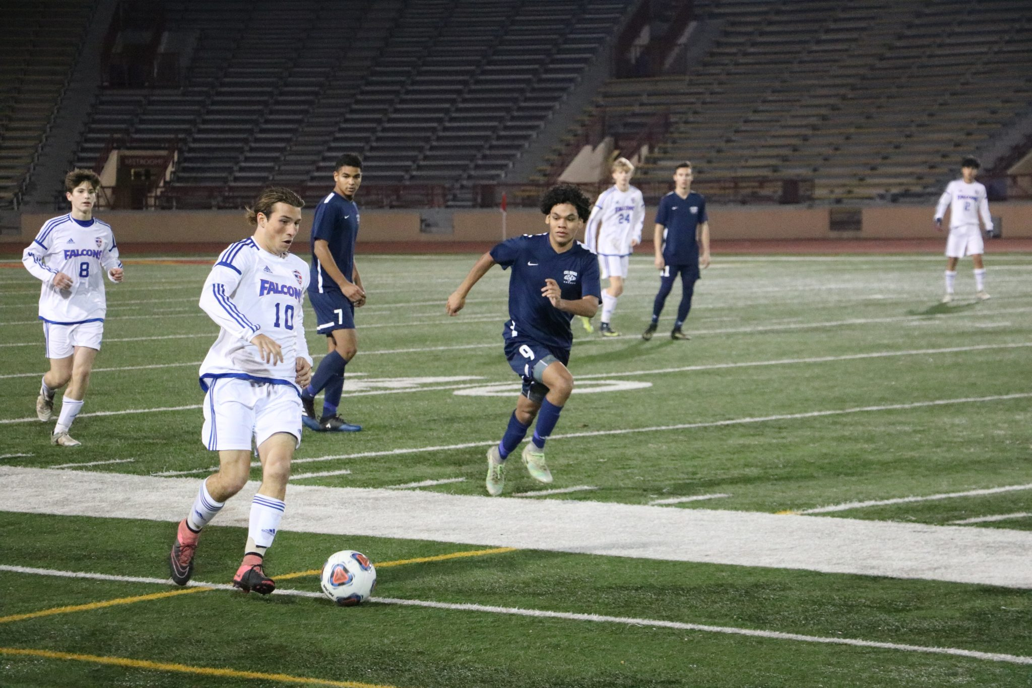 Falcons Soccer Strikes Back