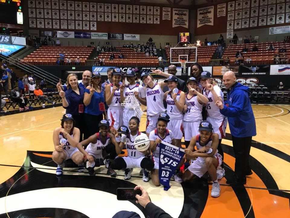 Women's Hoops Secure Banner Again, Win Back To Back Section Titles