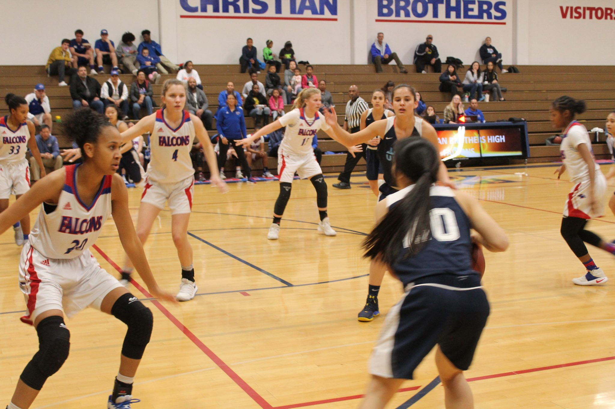 Lady Falcons Fends Off Urban In NorCal First Round