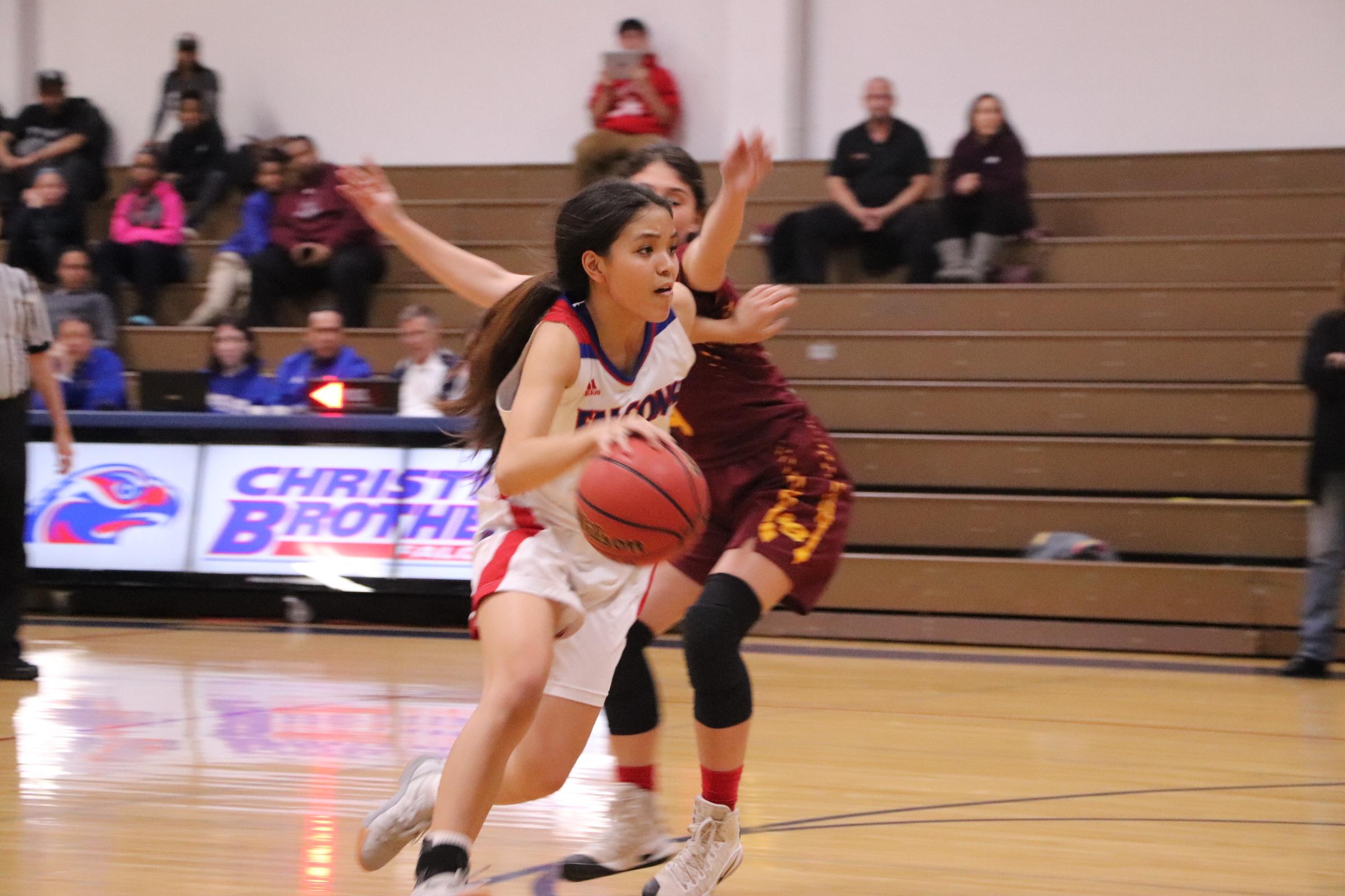 Women's Basketball Walks Through The First Round Of Playoffs