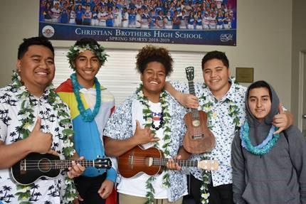 Polynesian Club Hosts Luau at All-School Lunch