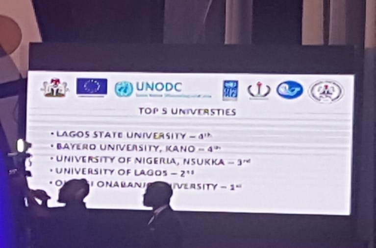 Top 5 universities recognized at the CK5.