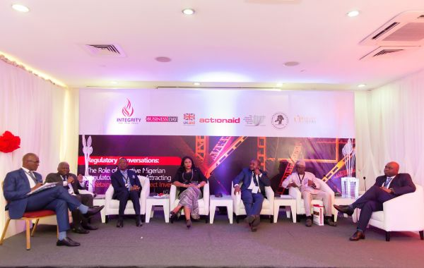 Cross section of Panelists at the event