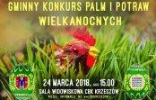 Konkurs Palm i Potraw Wielkanocnych