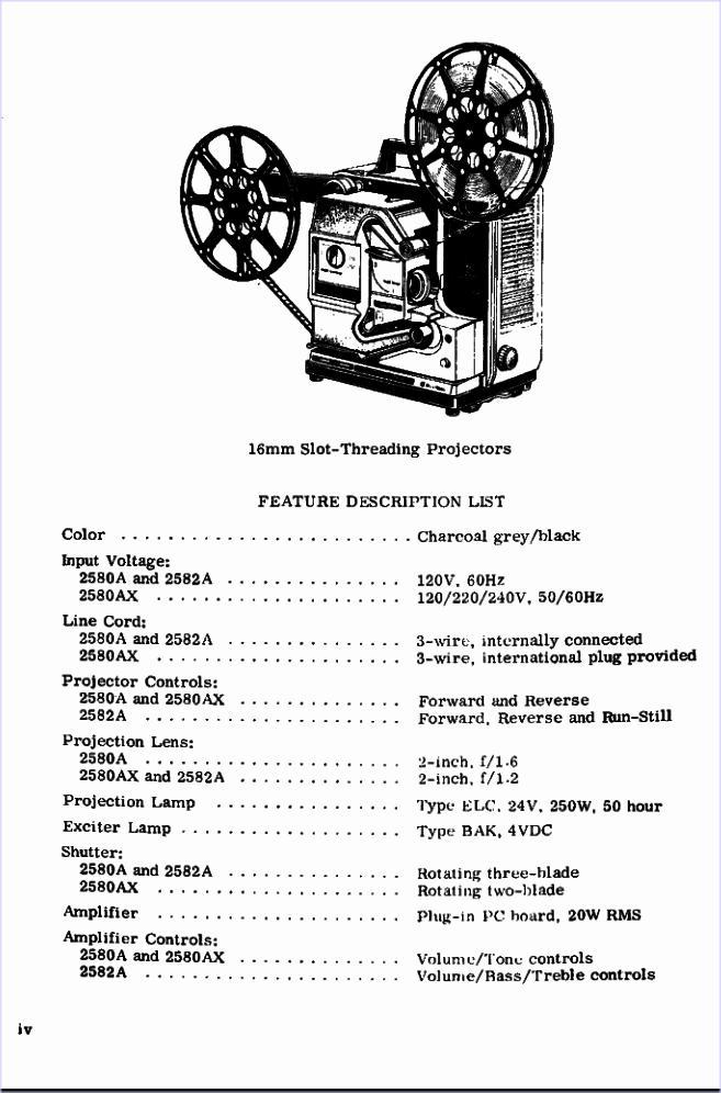 16mm Projector Optical Ssound