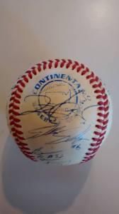 2008 McKinney Blue Thunder autographed baseball