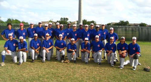 Coastal Kingfish 2009 Continental Baseball League Team Photo
