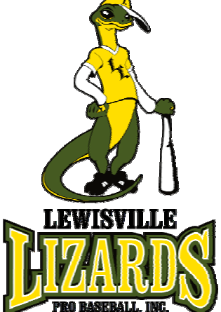Lewisville Lizards 2007 Continental Baseball League Logo