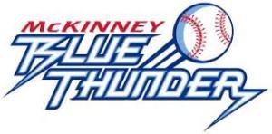 McKinney Blue Thunder 2008 Continental Baseball League logo