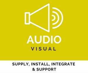 An integrated audio visual projection system is a powerful presentation tool. At CBM Corporate we maintain close relationships with industry leading manufacturers to supply you the end user with the best and most current technology.
