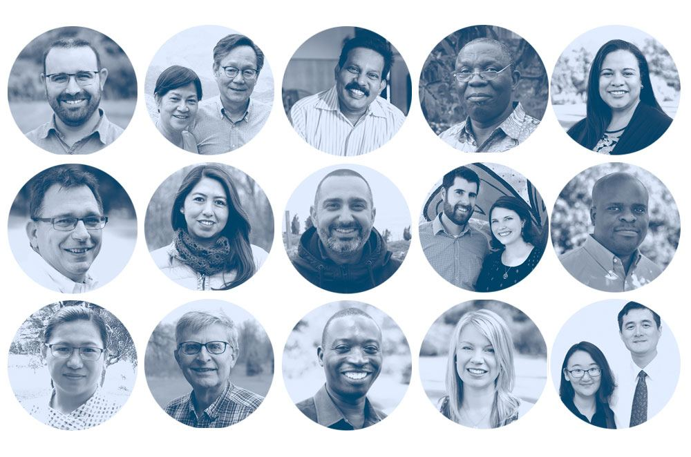 Collage of CBM staff