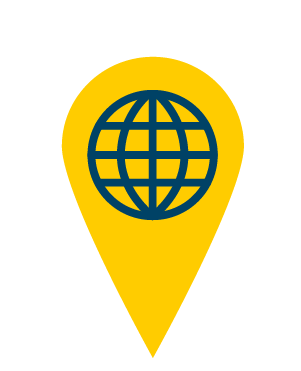 Image of global location icon