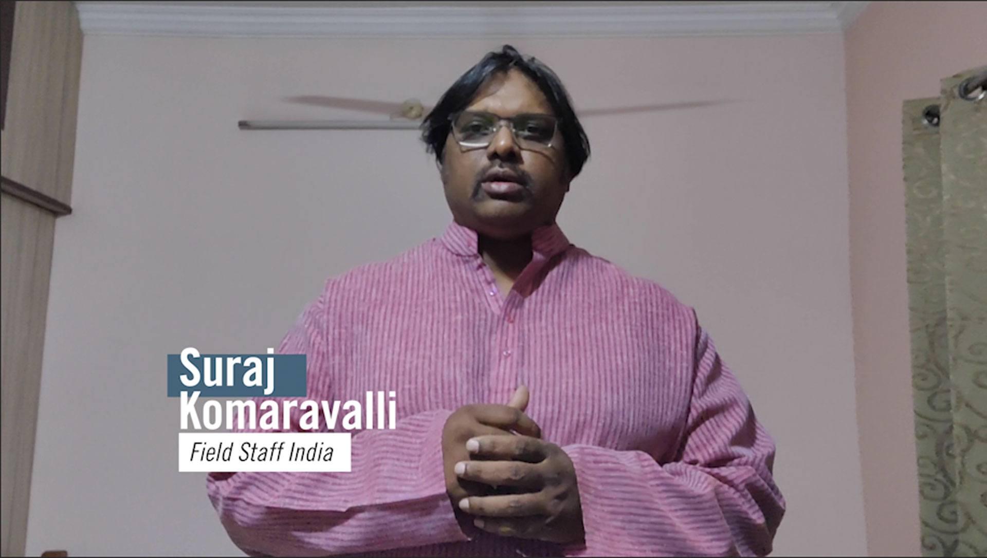 Photo of Suraj Komaravalli's Prayerline video