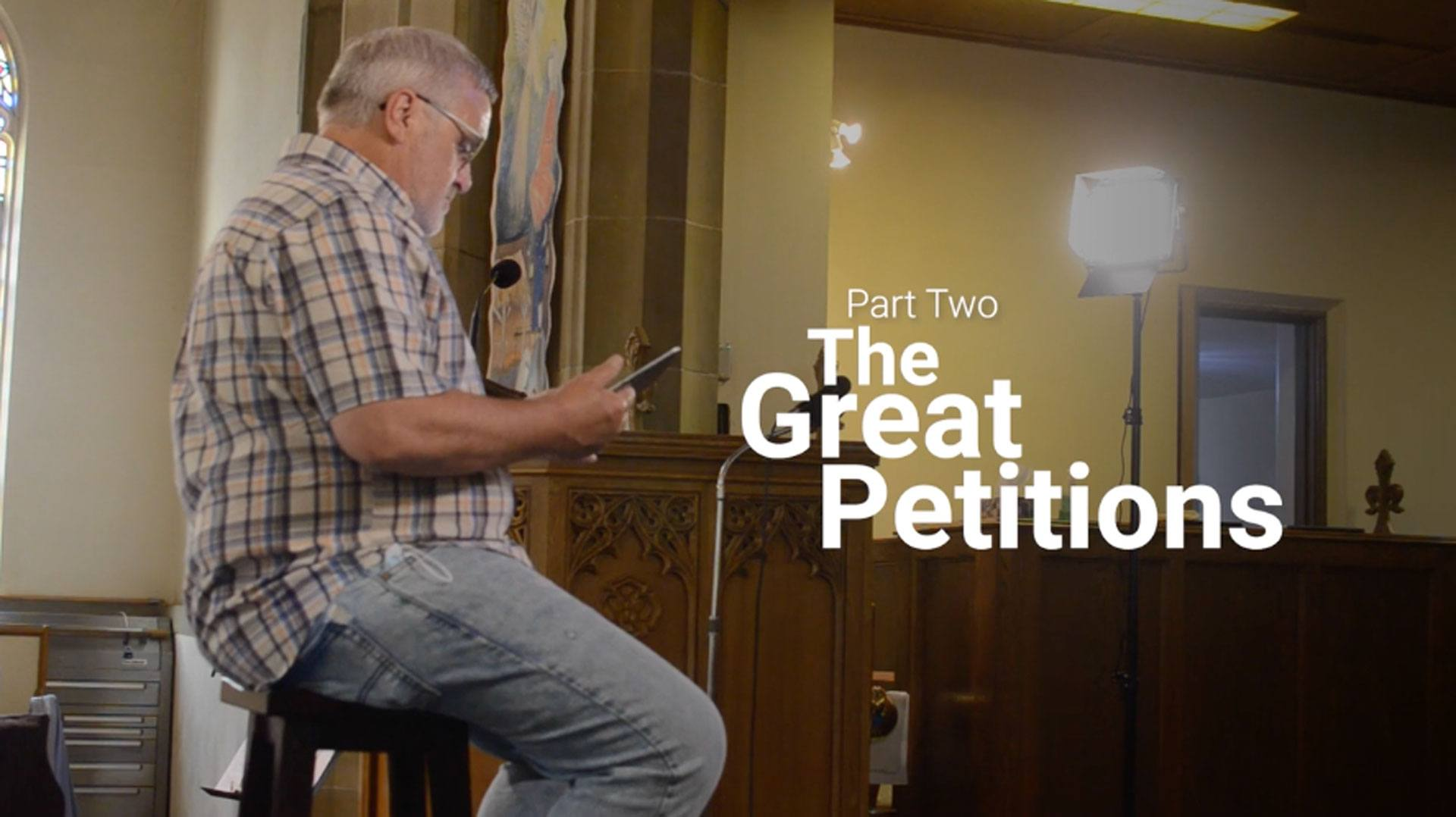"""Image of """"The Great Petitions"""" header"""