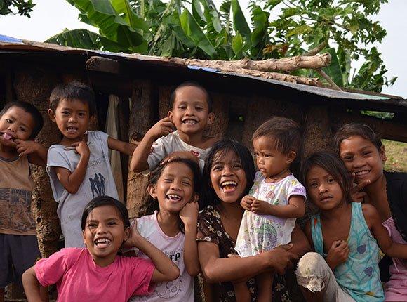 Photo of Filipino children
