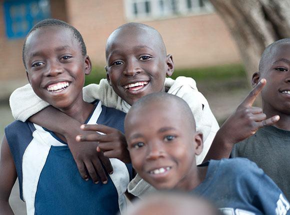 Photo of Rwandan children
