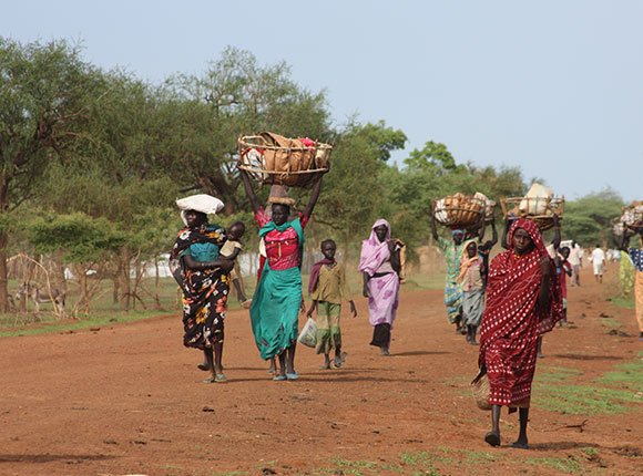 Photo of South Sudanese women