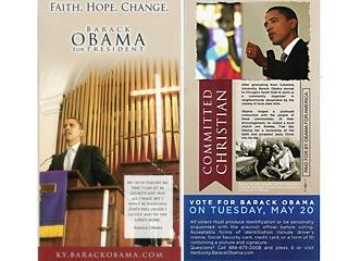 Obama Religious Flyer