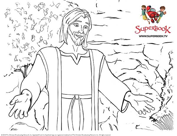 Superbook Coloring Pages Coloring Pages