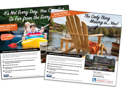 Mariner's Pointe Print Ads