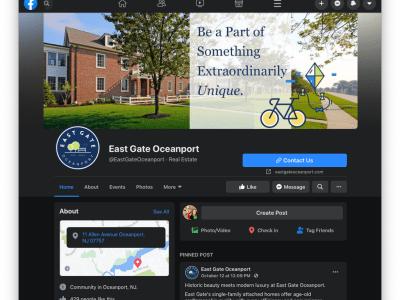 East Gate Social Media
