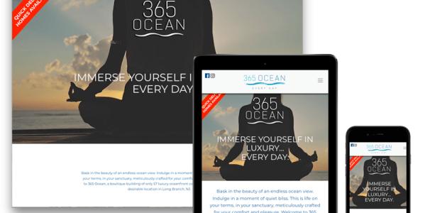 365 Ocean Responsive Design Website