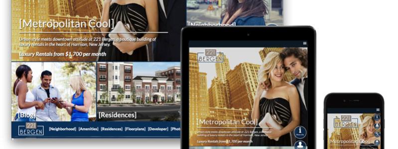 221 Bergen Responsive Design Website