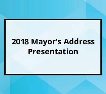 2018 Mayor's Address