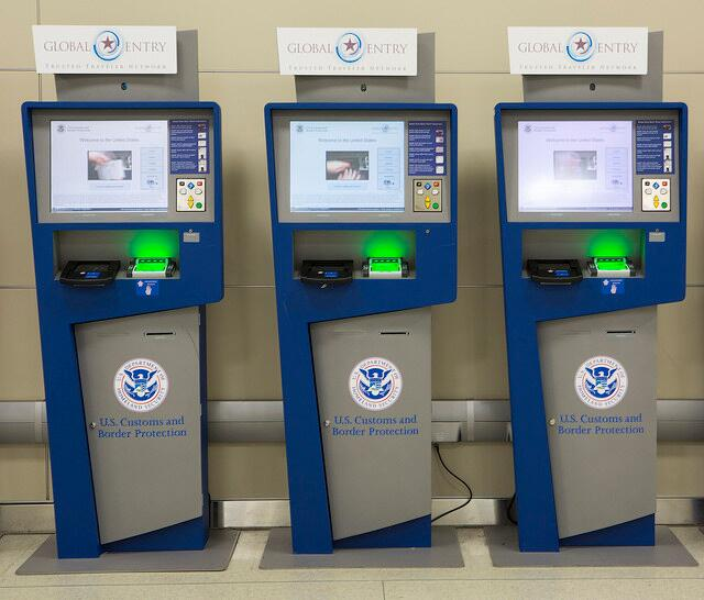 Image result for us global entry machine