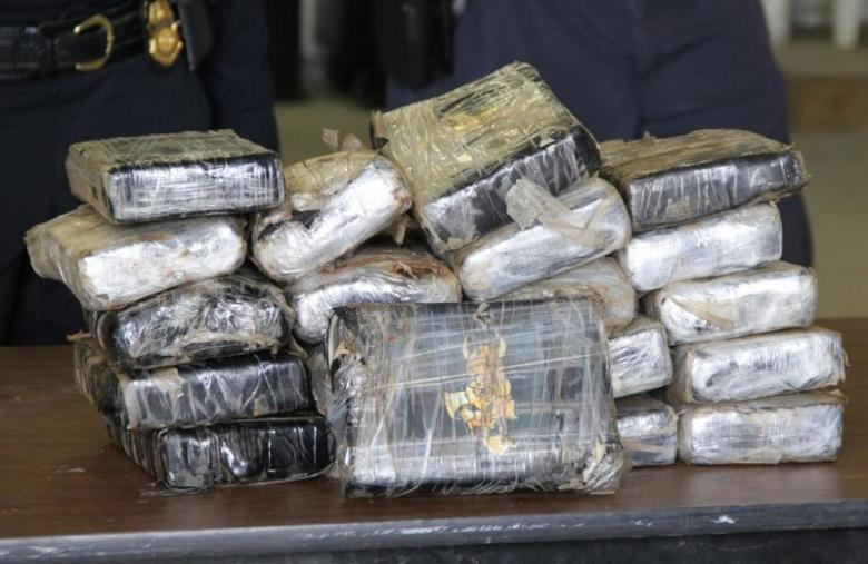 A multi-agency team discovered more than 44 pounds of cocaine aboard the M/V Samjohn Solidarity while the ship was anchored near Annapolis, Maryland on March 31, 2021.