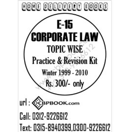 CA CFAP 2 Corporate Laws 7th Edition 2019 By Aamir Shahbaz
