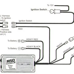 6al Msd Ignition Wiring Diagram Ge Microwave Cb Performance - Ultra Competition Fuel Injection Special Installation Guide