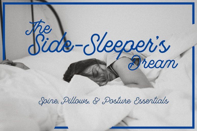 side sleeper s dream spine pillows