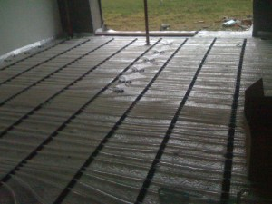 Emmeti clip rail underfloor heating system