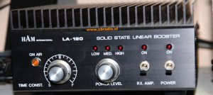 wwwcbradionl: Pictures and Specifications Ham International LA120 Mobile Linear Amplifier