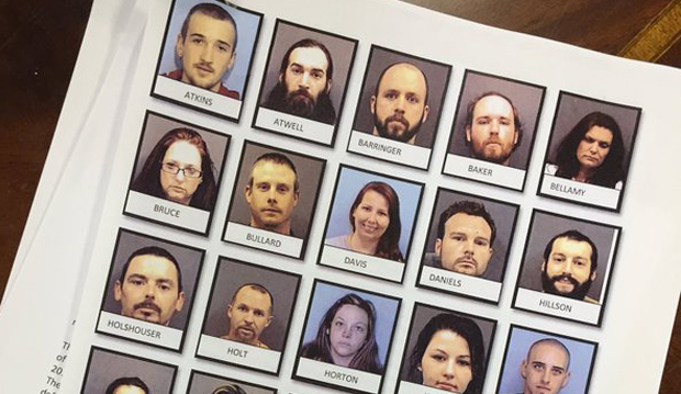 26 arrested in NC drug bust responsible for $4 million of meth