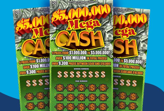 Lillington man wins $5M on $20 scratch-off lottery ticket
