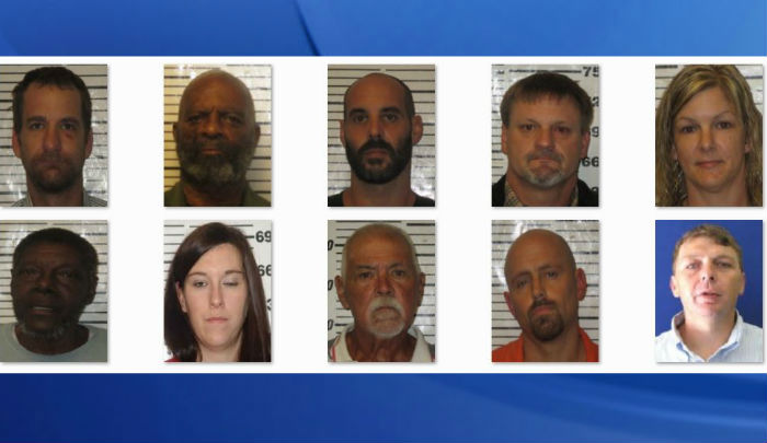 10 charged in drug crackdown operation at NC coast