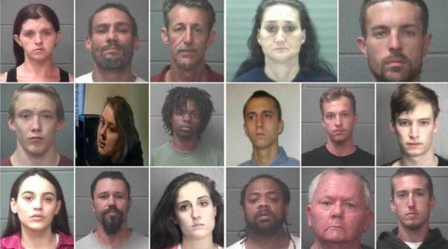 17 arrested on drug charges in NC as part of Operation H O P E