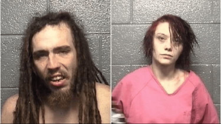 Eugene Chandler (left) and Shaleigh Brumfield. (Courtesy of WFMY)
