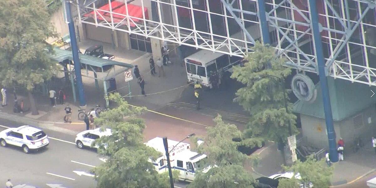 NC bus driver seriously injured after being shot at transit