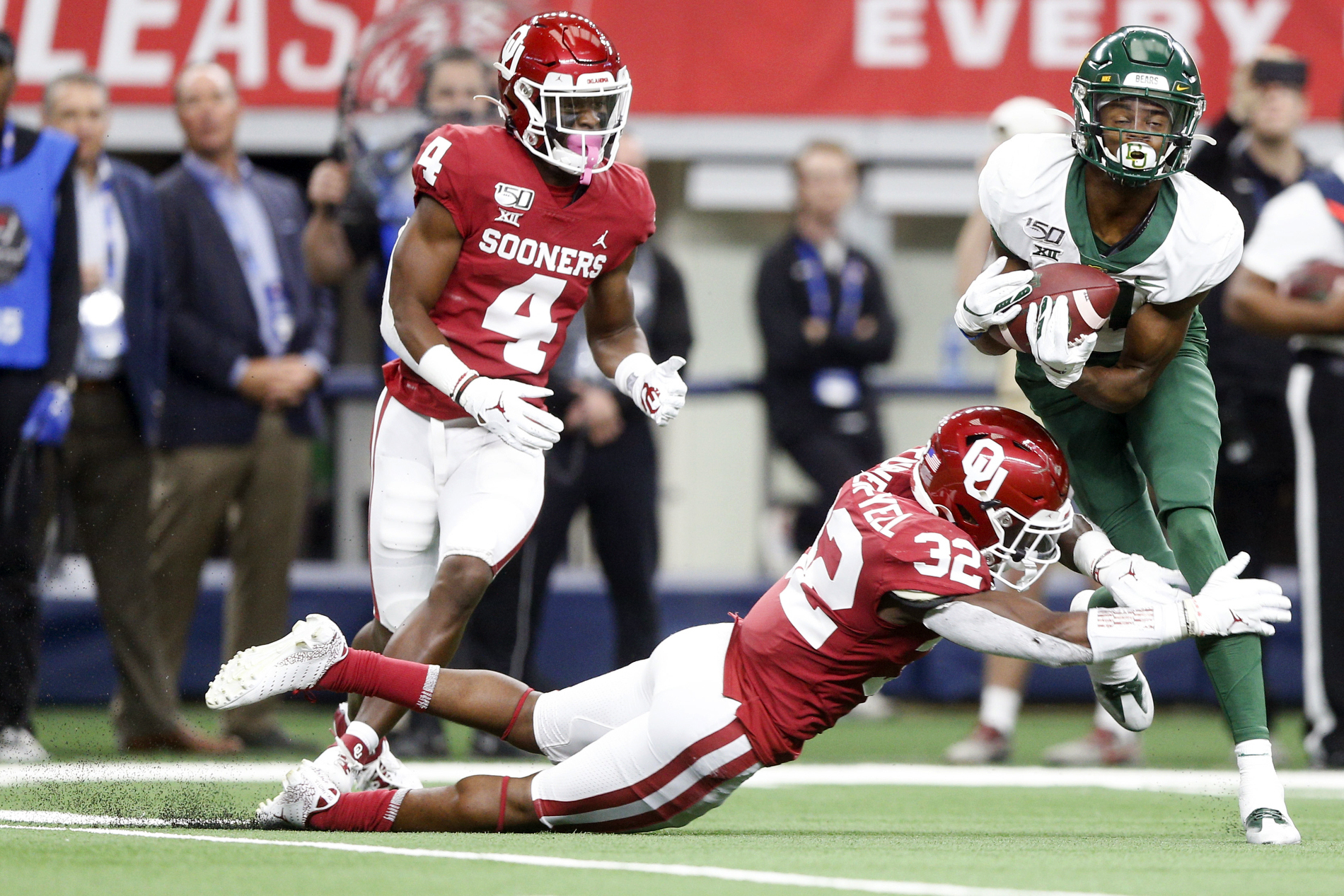 No 6 Oklahoma Beats No 8 Baylor 30 23 In Ot For B12 Title