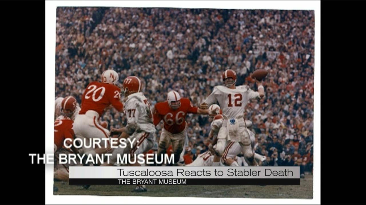 Kenny Stabler, The Snake Alabama football_106598